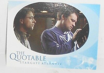 Stargate Atlantis - Quotable Insert #q5