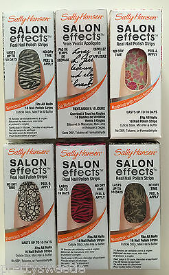 Sally Hansen Salon Effects Real Nail Polish Strips *Choose your style*