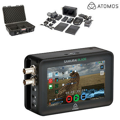 Atomos Samurai Blade SDI Monitor Recorder ATOMSMB001 w/ Case l Authorized Dealer