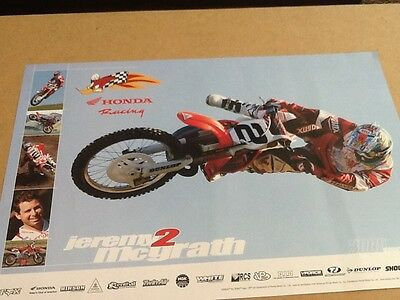 Jeremy McGrath 2005 Collectible Poster 13 X 19