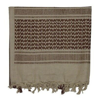 New Voodoo Tactical Woven Coalition Desert Scarf Cotton Brown/ Tan 08-306513000