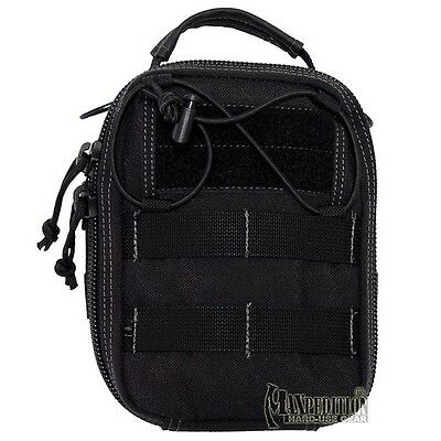 New Maxpedition FR-1 First Aid Kit Bag in Black, (Model# 0226B)