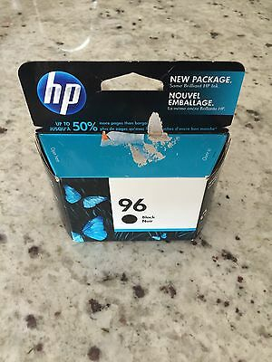 HP Hewlett-Packard Black Ink Cartridge 96 Factory Sealed