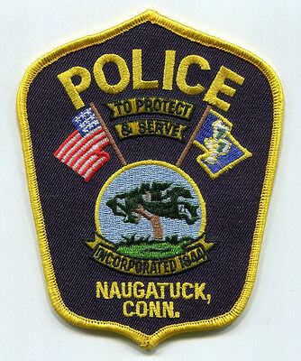 Naugatuck Connecticut Police Patch