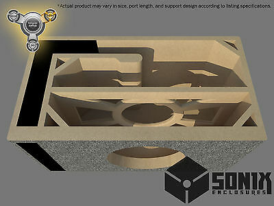 THNDRbox PORTED SUBWOOFER MDF ENCLOSURE FOR ORION HCCA15 SUB BOX
