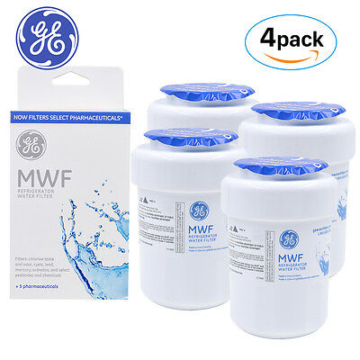 4PACK GE MWF/MWFP SmartWater Water Filter Replacement Cartridge