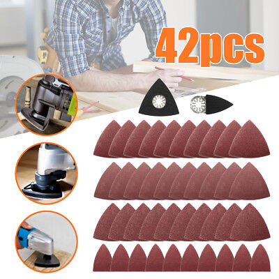 42pcs Sanding Sheets Accessory Kit for Fein Multimaster Oscillating Multitool UK