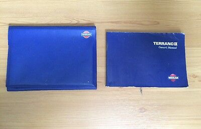 Nissan Terrano ll Owners Manual (1999)