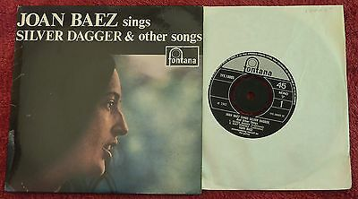 Joan Baez Sings Silver Dagger & Other Songs UK Fontana EP TFE 18005 NM/NM