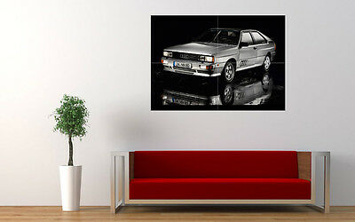 "AUDI QUATTRO 1980 NEW GIANT LARGE ART PRINT POSTER PICTURE WALL 33.1""x23.4"""
