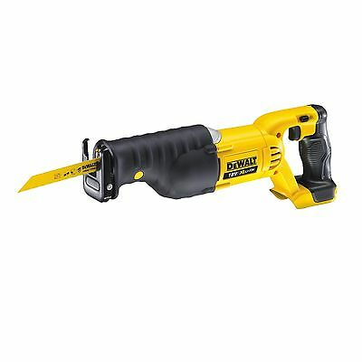 DeWalt RECIPROCATING SAW 18V, Li-Ion Cordless-Skin Only, Rubber Grip DCS380N-XE