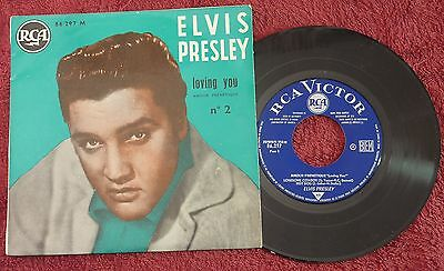 Elvis Presley Loving You French EP  No 2 Superb EX+ / Near Mint