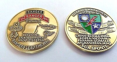 Army GWOT 3rd Ranger Battalion Challenge Coin ENGRAVEABLE!