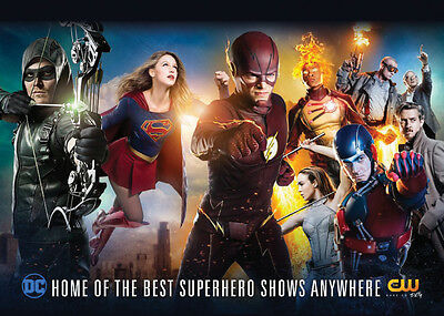 2016 PROMO Card DC on CW Card - Flash Supergirl Arrow Legends of Tomorrow