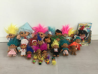 Job Lot Vintage Trolls By Tnt Russ Soma Dam Mt Bundle