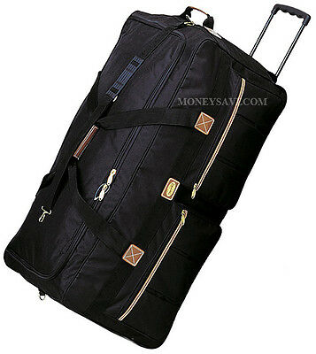 """Transworld"" 22""/25""/30""/36""  Rolling Duffel Bag Wheeled Luggage Suitcase"