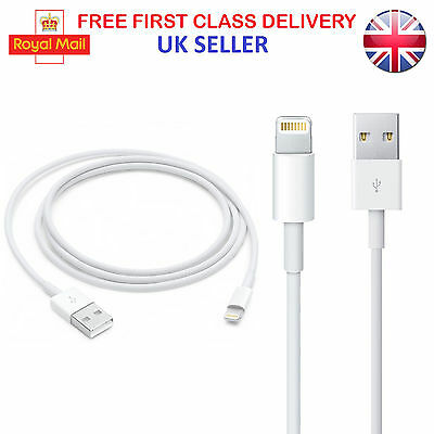 Genuine 1M Apple Lightning to USB Sync Power Charger Lead For iPod Touch 5th 6th