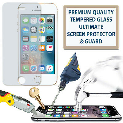 100% Genuine Tempered Glass Film Screen Protector Guard For Apple Ipod Touch 4