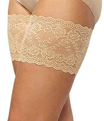 Bandelettes Elastic Anti-Chafing Thigh Bands *Prevent Thigh Chafing* Beige Onyx