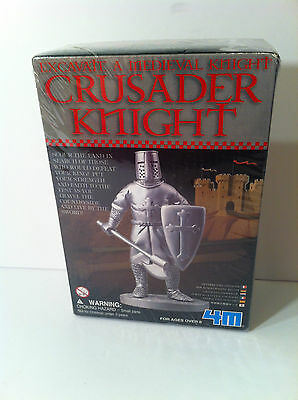 Excavate a Medieval Knight - Crusader Knight toy
