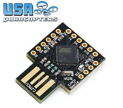 New ATMEGA32U4 Arduino Leonardo USB Mini Board DIY Programmable Atmel Board
