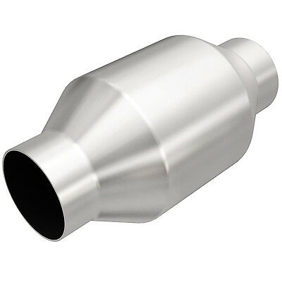 """Magnaflow 53956 Universal High-Flow Catalytic Converter Round Spun 2.5"""" In/Out"""