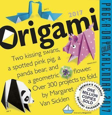 Origami Page-A-Day Calendar 2017