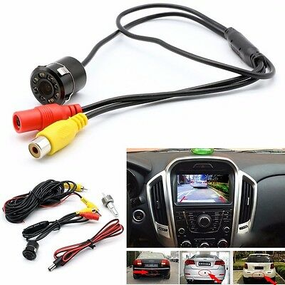 New Car Truck Front Side Rear View Parking Reverse Camera 8 LED Night Vision UK