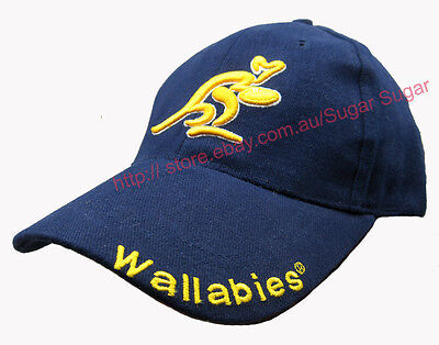 Licensed Rugby Wallabies Caps - Rugby Its A Mind Game