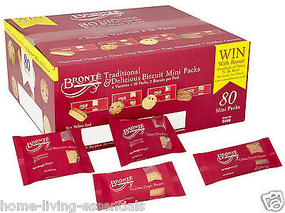 Bronte Traditional Mini Pack Biscuits Cookies Office Cafe Hotel Lunch