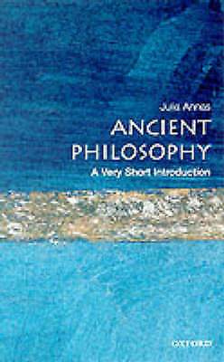 A Very Short Introduction.Ancient Philosophy by Julia Annas (Paperback, 2000)