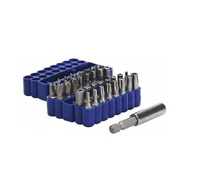 New 33PC Security Magnetic Bit Set Screwdriver Holder Torx Hex Star New