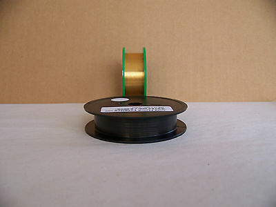 "Gold Plated -Tungsten / Wolfram wire  0.0150 mm./ 0.0006""  -   3 m / 10 ft."