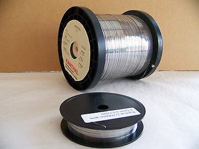 "Kanthal D  Ribbon resistance heating wire 0.5mm  X 0.2mm (.020"" X .008"" ) 50 ft"