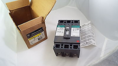 General Electric Ted136020Wl Molded Circuit Breaker Nib 20Amp 3Pole 600Vac