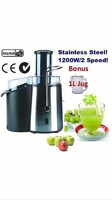 800W STAINLESS STEEL Fruit Juicer Juice Extractor Fountain