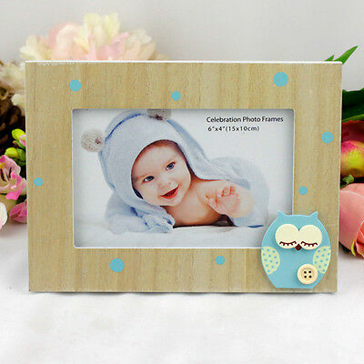 Blue Owl Baby Boy Frame | Newborn | Baby Shower | Keepsake
