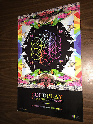 Coldplay - A Head Full of Dreams - Poster - Chris Martin Beyonce NFL Super Bowl