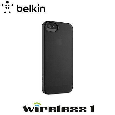 Belkin iPhone 5 Shield Crush Cover TRANSLUCENT Black Gravel F8W365WWC00-APL