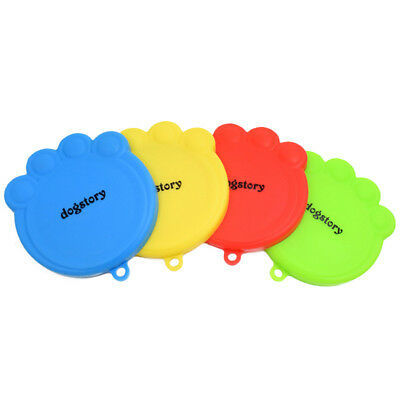 Universal Silicone Pet Food Tin Can Lid Cover for Multiple Sizes KEEP FOOD FRESH