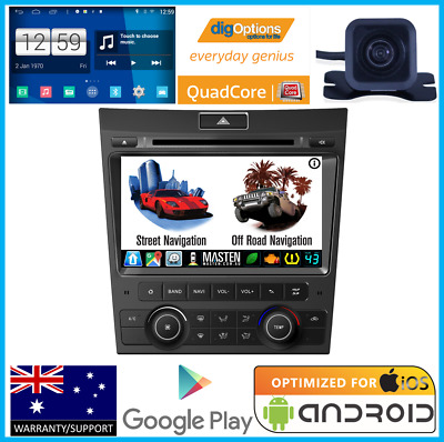 "*8"" Ve Commodore Series 1 Dvd Gps Navigation B/tooth Stereo Head Unit + Camera"