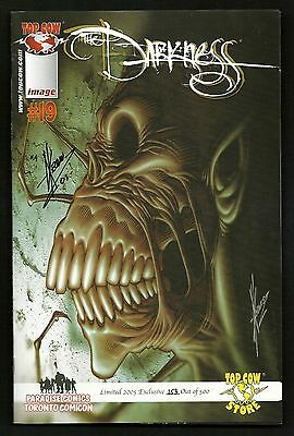 The Darkness #1 & 19 (Lot of 2) Reg. & Toronto Comicon Variant SIGNED #253/500