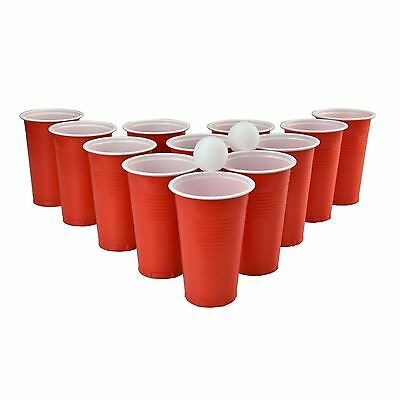 Global Gizmos Beer Pong Original Adult Drinking Game Fun Party 24  Plastic Cups