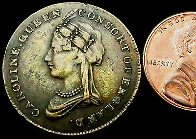 S020a: 1795 British Royal Family Marriage Medal - Caroline, Queen Consort to G4