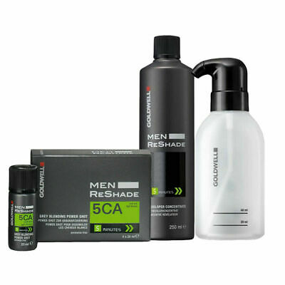 Goldwell Color Men Reshade Set Developer Concentrate 250ml + 5CA 4x20ml