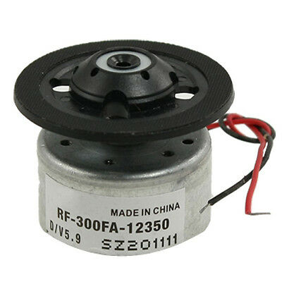 RF-300FA-12350 DC 5.9V Spindle Motor for DVD CD Player Silver+Black BF