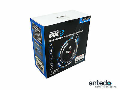 Turtle Beach Ear Force PX3 Wireless Gaming Headset PS3 PS Xbox 360 MAC PC Neu