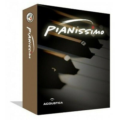 Acoustica PIanissimo Virtual Piano Software (Download)