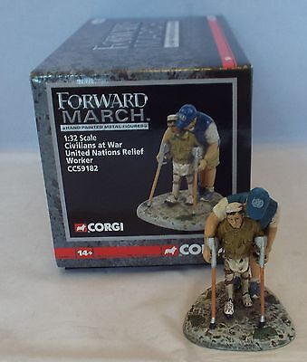 CORGI FORWARD MARCH 1:32 Civilians at War United Nations Relief Worker CC59182