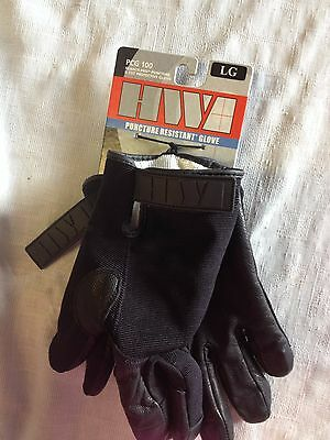 HWI Gloves LARGE Puncture Resistant NWT $25